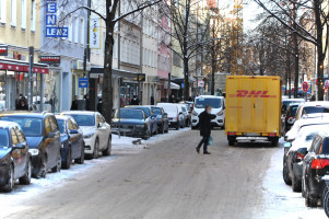 Weißenburger Straße Anfang Februar 2021 (© Peter Martl)