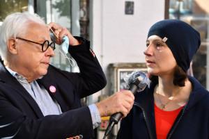 StRin Anne Hübner im Interview mit Klaus Kastan (©PeterMartl)