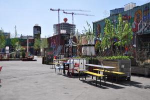 Blick ins Werksviertel (Totale)