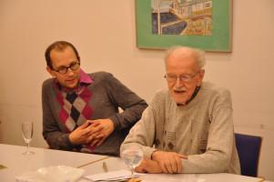 Der damalige Stadtrat Nik Gradl, Martin Löwenberg