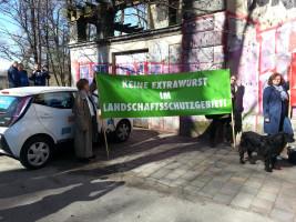 »Keine Extrawurst im Landschaftsschutzgebiet«
