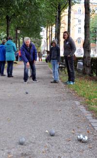 OB Reiter am Wurf, beobachtet von Lena Sterzer