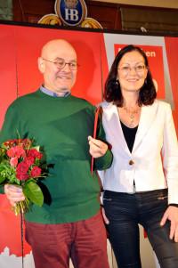 Thomas Rottenkolber mit Claudia Tausend