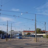 Trambahndepot Einsteinstraße