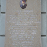 Gedenktafel für die Schüleins an der Einstenstraße 42