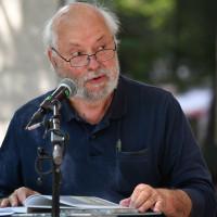 Hermann Wilhelm bei einer Lesung auf den Kulturtagen Haidhausen